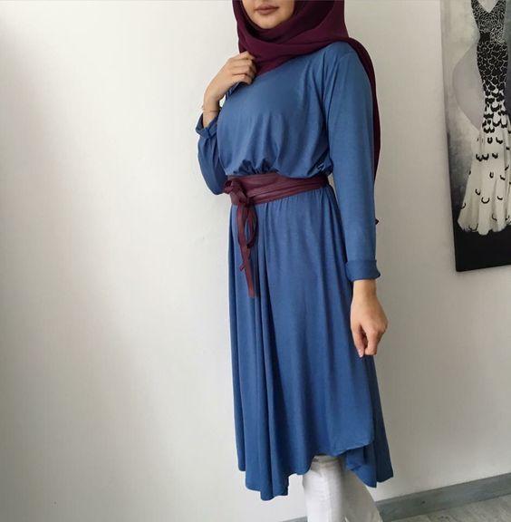 Elegant and modern hijab fashion looks http://www.justtrendygirls.com/elegant-and-modern-hijab-fashion-looks/