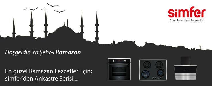En güzel lezzetler için, SİMFER' den Ankastre Serisi...