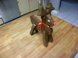 Easy Wood Project | Christmas, winter, | Pinterest