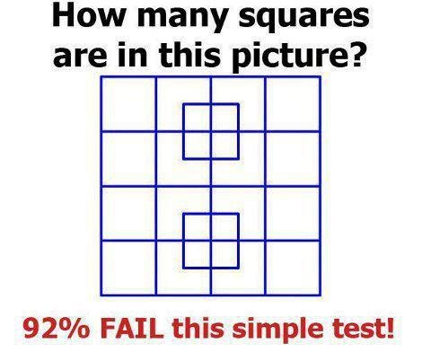 How many square