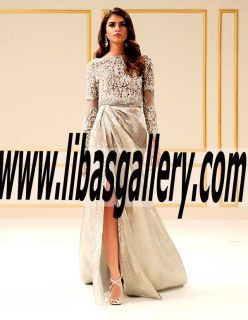 A Breathtaking Collection Of Evening Occasion Dresses By Faraz Manan evening gowns,long Gown dresses,chiffon bridesmaid dresses,modest Gown dress UK USA Canada Australia Saudi Arabia Bahrain Kuwait Norway Sweden New Zealand Austria Switzerland Germany Denmark France Ireland Mauritius and Netherlands  |   www.libasgallery.com