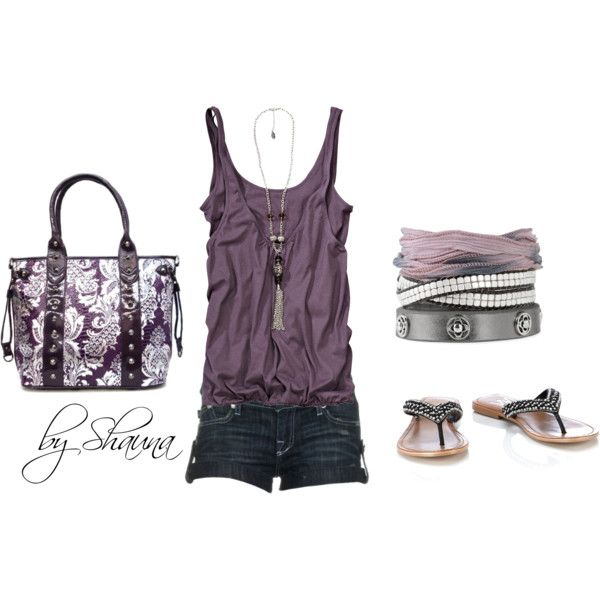 Summer Outfit: Purple Summer, Summer Fashion, Fashion Ideas, Dreams Closet, Fashionista Trends, Metals Purple, Cute Summer Outfits, Casual Outfits, Summer Night