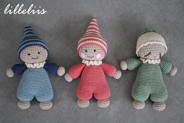 1000+ images about Crochet cuddly baby doll on Pinterest ...