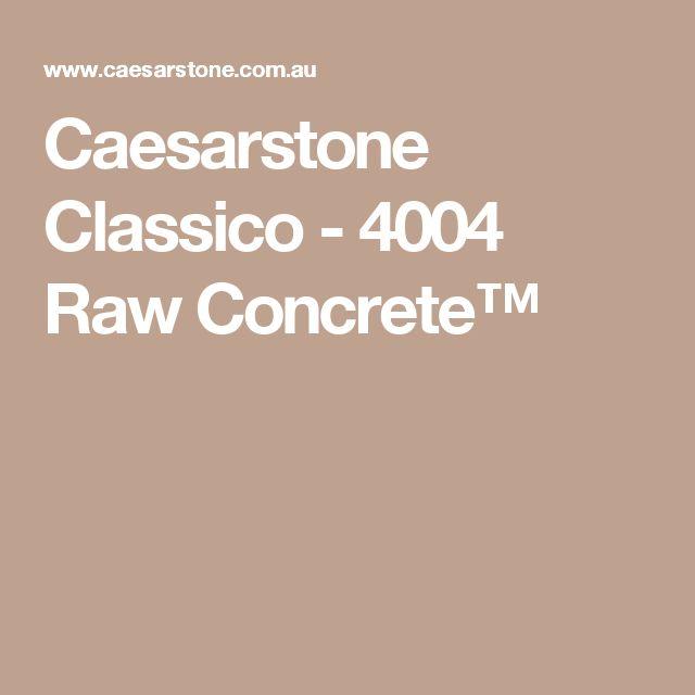Caesarstone Classico - 4004 Raw Concrete™
