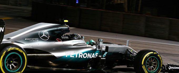 Formel 1 - MERCEDES AMG PETRONAS, Großer Preis von Singapur 2016. Nico Rosberg…