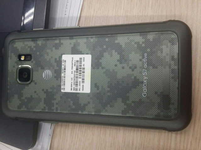 Samsung Galaxy S7 Active shows up again in more photos. #TheNextGalaxy #Android #GalaxyS7active #galaxyS7 #Samsung #S7 #Active  http://thatgeekdad.blogspot.com/2016/05/samsung-galaxy-s7-active-shows-up-again.html
