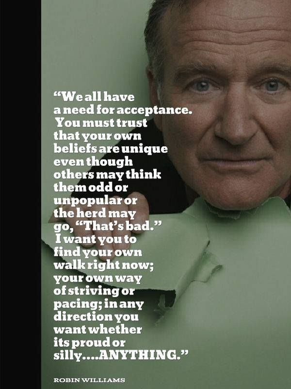 Best Images About Enlightenment Inspiration On Pinterest - 14 hilarious inspiring quotes from robin williams