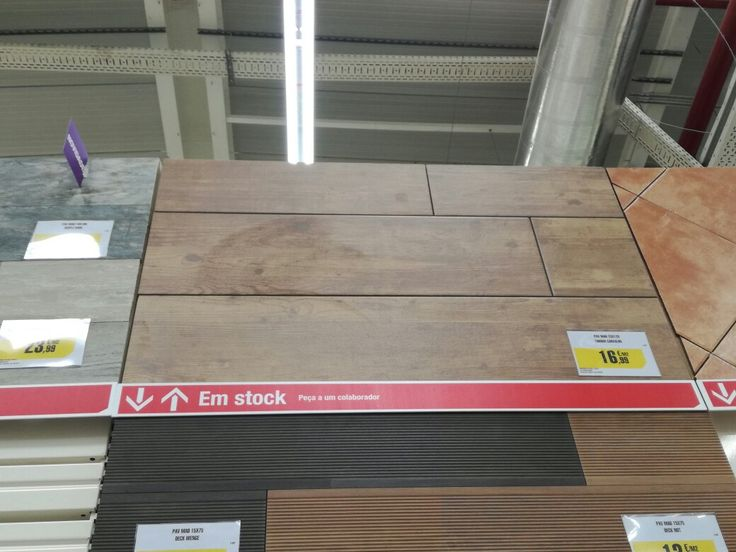 Leyroy Merlin Tiles look like wood