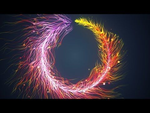 Particle Dance 02 - Trapcode Particular