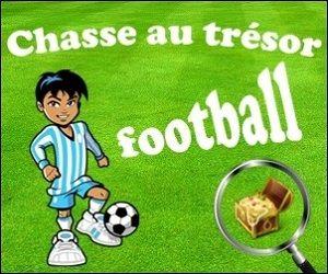 chasse au trésor football