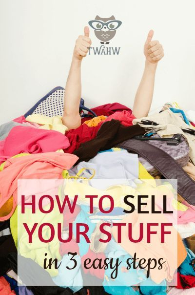 Most people have $1,000 - $2,000 in unwanted stuff lying around the house. Here's how to sell your stuff for fast cash.