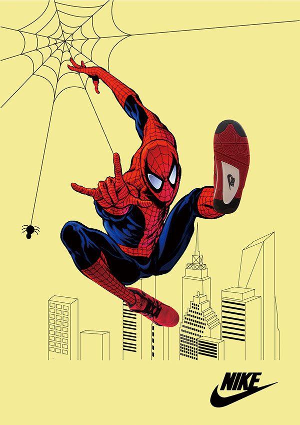 광고디자인 - Spiderman