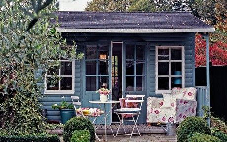 I would love a shed/office at the bottom of the garden. Need a backyard first, though.
