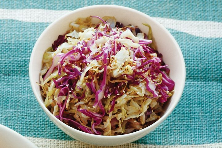 Five-spice cabbage
