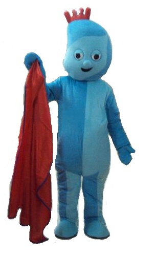 Iggle piggle mascot