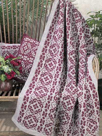 105 Best Afghans Co Knitting Images On Pinterest Knit Patterns