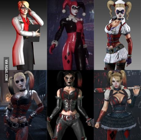 The Evolution of Harley Quinn in the Arkham Series