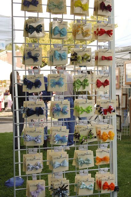 craft booth displays 17 best ideas about bow display on hair bow 1434