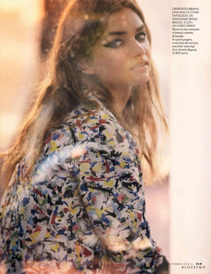 Teen Jeans in Elle Italy with Sharon Kavjian wearing Jil Sander,Repossi - (ID:11588) - Fashion Editorial | Magazines | The FMD #lovefmd