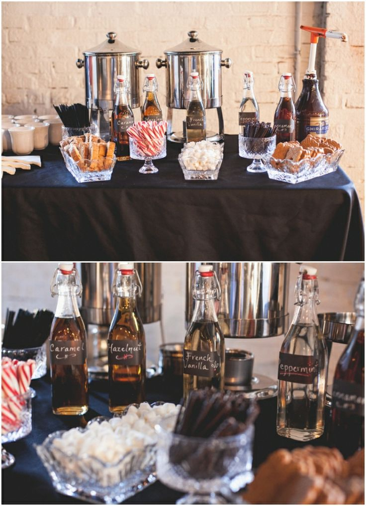 Hot Chocolate Bar The Bottle Factory Venue Wedding