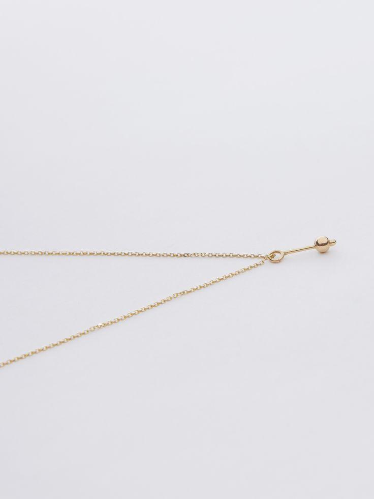 necklace - jolie - Anna Lawska Jewellery / collection - closeness -