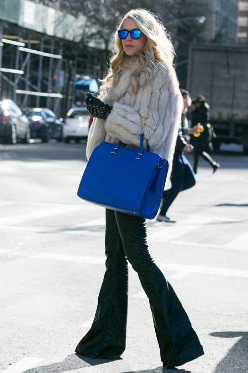 New York Fashion Week - Best streetstyle looks (7) - Elle.ro