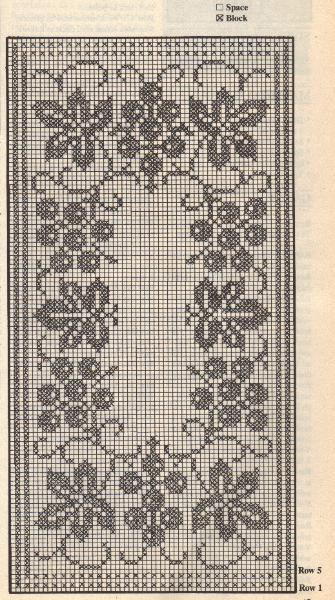 Crochet Grapevine Runner