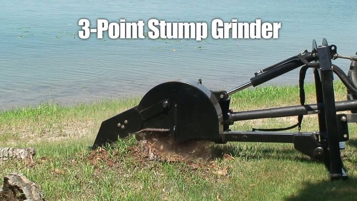 Erskine 3-Point Stump Grinder Attachment
