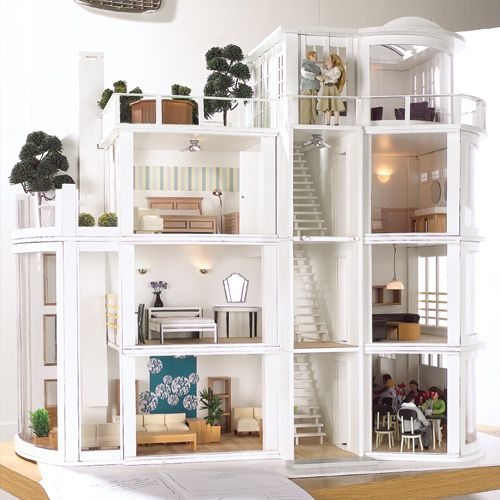 17 Best Ideas About Modern Dollhouse On Pinterest Diy