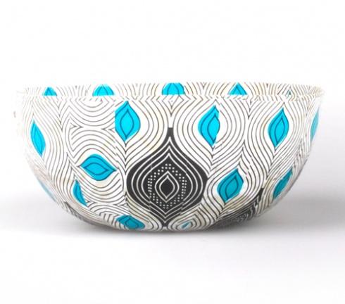 African print bowl. Designer: Nicci Drzewicki Producer: Wola Nani