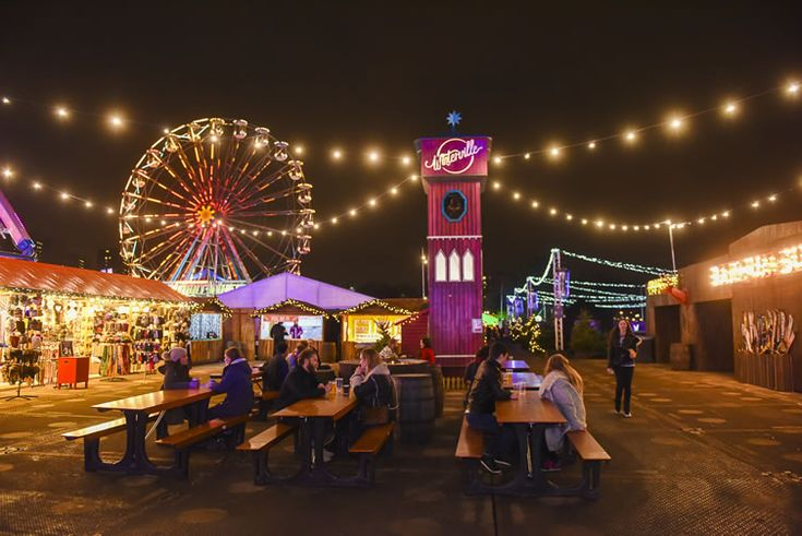 From ice-skating to Pop Art-inspired retail, it's Victoria Park's festival of winter wonderment...