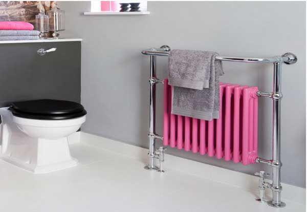 Decorar el cuarto de ba o a todo color rosa fucsia mil - Colores para el bano ...
