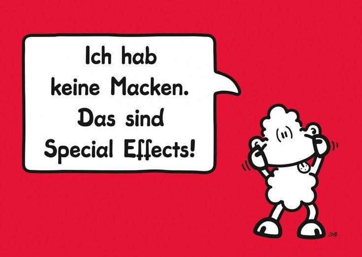 Macken | sheepworld | Echte Postkarten online versenden | sheepworld