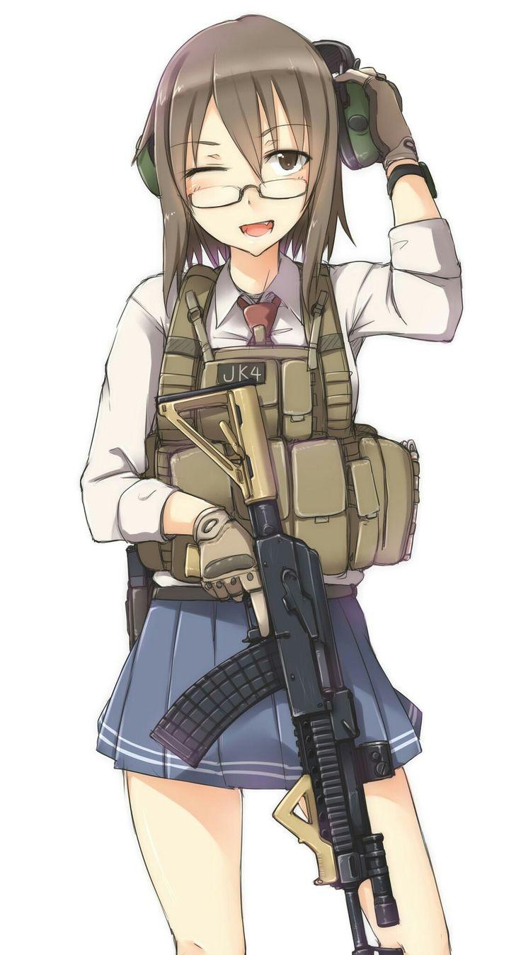 Girls Frontline Ww2 Wallpaper 2651 Best Anime Girl Gun Images On Pinterest Anime Girls