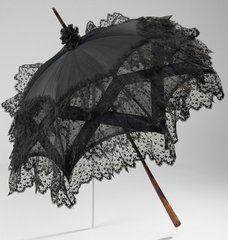 Lovely black parasol