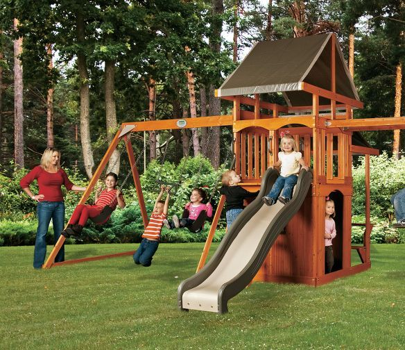 Adventure Playsets Natural Playset : Cabela's