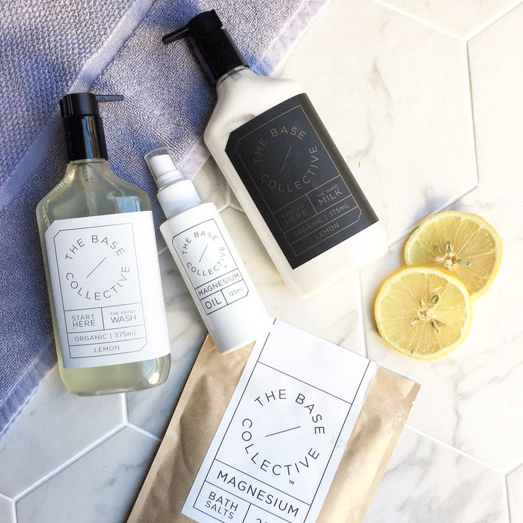 We welcome to the family @thebasecollective a gorgeous range of organic beauty goodies crafted in Australia  Featured: The Lemon Hand Wash The Lemon Hand Milk Magnesium Bath Salts Magnesium Oil ✖️SHOP NOW We deliver overnight✖️