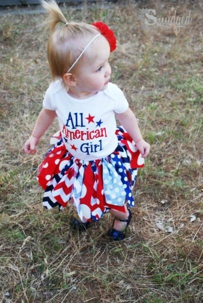 Independence Day #Fabric Tutu