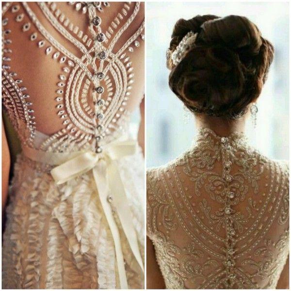 vestido de casamento Costas