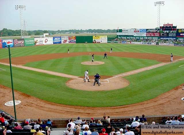 GCS Ballpark - Sauget, IL (Gateway Grizzlies, Independent)