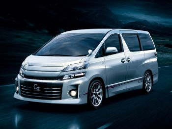 "Toyota Vellfire 2.4 Z ""G's"" (ATH20W) '09.2012–01.2015"
