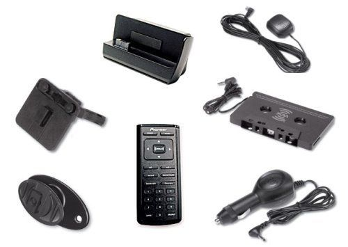 Pioneer CD-INCAR2 Car Kit for Pioneer GEX-INNO2BK Inno 2 Portable XM Radio Accessory kit for playing Pioneer inno satellite radio over your car stereo. Includes dock, cigarette lighter power adapter, cassette audio adapter, full function remote control. Universal swivel mounting bracket, optional vent mount. Can connect dock directly to car stereo with optional RCA left/right cord. Compatible with... #Pioneer #CE