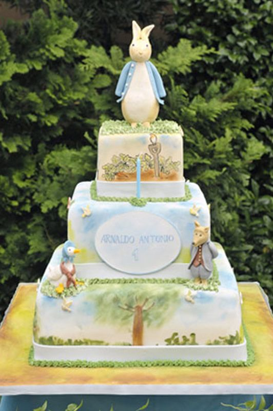 28 best Peter Rabbit Cakes images on Pinterest Peter rabbit cake