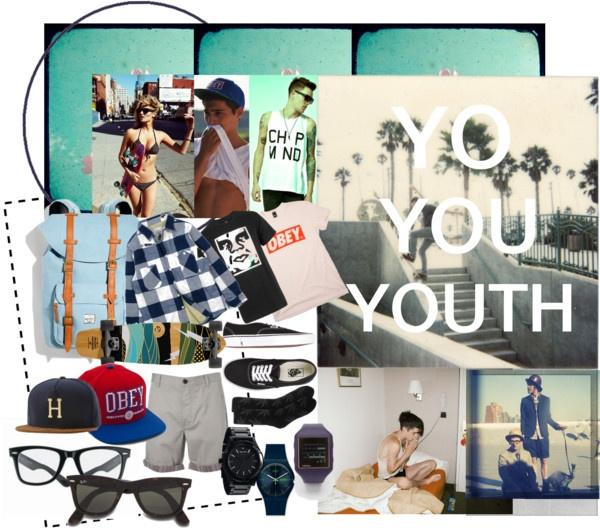 """""""YO YOU YOUTH"""" by januaryceleste ❤ liked on Polyvore"""