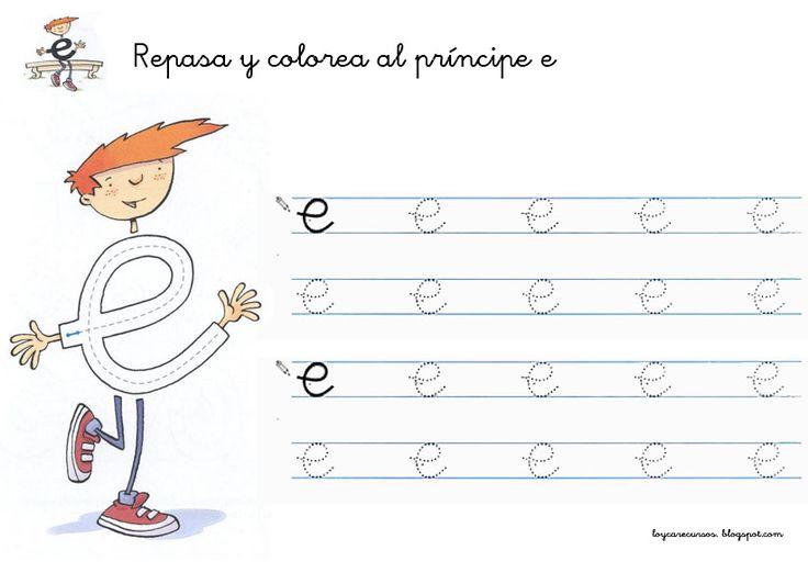 RECURSOS DE EDUCACION INFANTIL: FICHAS