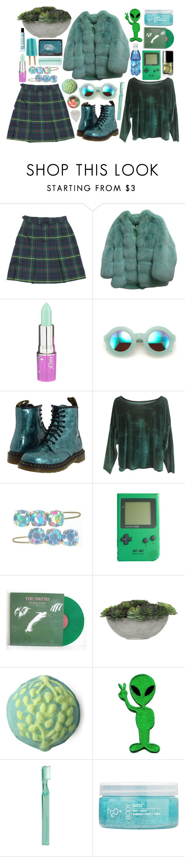 """""""Love will tear us apart"""" by emmaadv ❤ liked on Polyvore featuring Gucci, Wildfox, Dr. Martens, Chanel, Retrò, Lux-Art Silks, NARS Cosmetics, Supersmile, H2O+ and philosophy"""