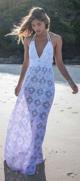 Maxi Detailed Inspiration Dress