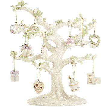 lenox ornaments ornament tree sets wedding 12pc mini ornament set