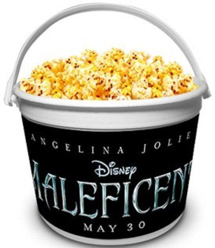 Disney Maleficent Theater Exclusive Promotional 64 oz Plastic Popcorn Tubs (2) @ niftywarehouse.com #NiftyWarehouse #Halloween #Scary #Fun #Ideas