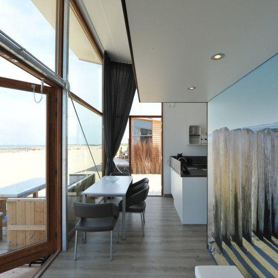 Strandhuisje Groede interieur | Zeeland